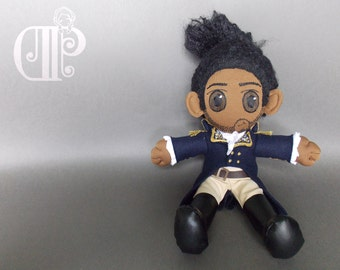 Lafayette from Hamilton Musical Plush Doll Plushie Toy