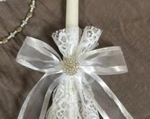 Lambades / Greek Wedding / Baptism / Easter / Celebratory Candles