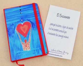 """Notebook bag """"El Encuentro"""""""