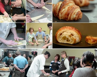 HANDS ON CROISSANTS Class - We'll teach you how to make them yourself