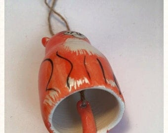 Ginger cat chime