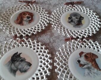 Vintage Decorative Plates Ceramic