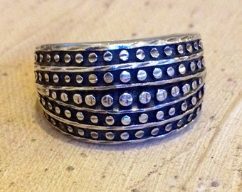 Sterling Silver - Chunky Ring