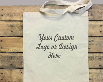 Custom Canvas Budget Tote Bag, Custom Canvas Bag, Personalized Bags, Design Your Tote Bag, Custom Wedding Gifts, Bridesmaid Gifts