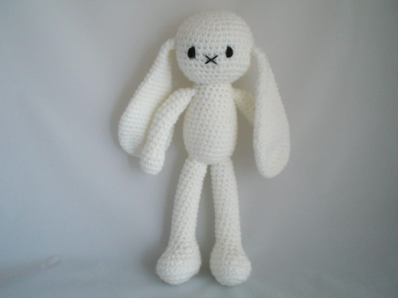 Amigurumi Bunny In Dress : Crochet Bunny Rabbit / Cute Crochet Amigurumi Dress up Long