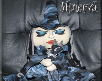 Minerva the Witch doll