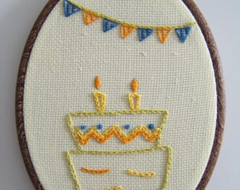 Birthday Embroidery Gift
