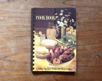 A Book of Favorite Recipes From Our Best Cooks Salem United Methodist Church copyright 1968-1986  Spiral Bound