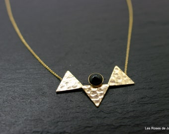 Gold triangle during