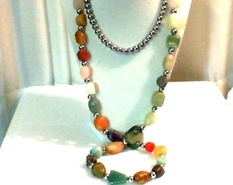 TIGER AGATE NECKLACE