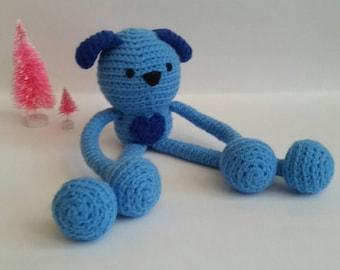Custom Crochet Puppy Plush Amigurumi Toy