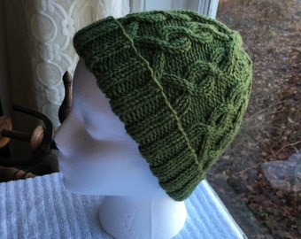 Hand-Knit Hat - Anne of Green Cables