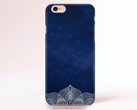 Lace iPhone 6s Case Matte iPhone 6 case iPhone 5s Case iPhone 5 Case Lace Samsung Galaxy S7 case s4 mini Case navy Samsung S5 case  [65]