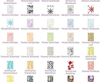25 Pack of Pattern Blank Cards 2 7/8 x 4 5/8