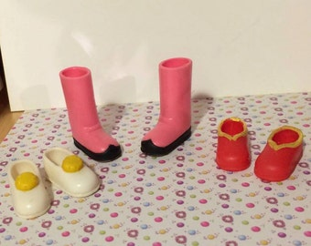 Very Rare Cardcaptor Sakura doll shoes and boots for blythe pullip dal obitsu