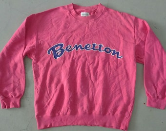 Hot Sale, Rare Vintage United Colors Of BENETTON Sweatshirt