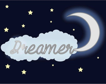 Dreamer Word Art