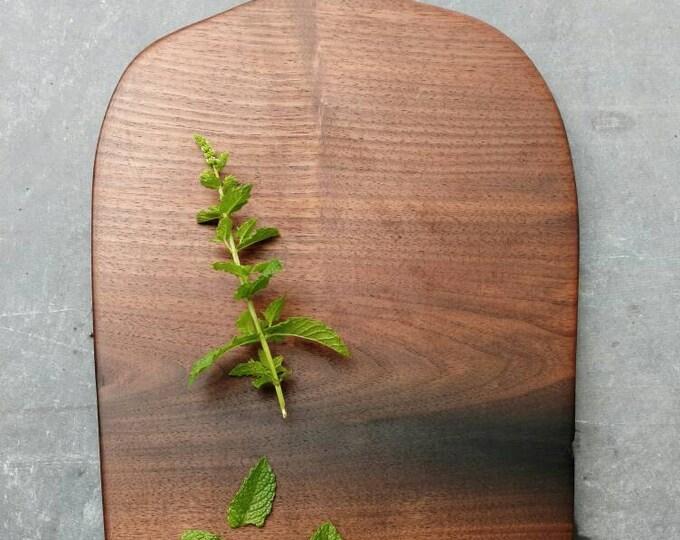 Walnut live edge cutting board, bread board, cheese board, serving board unique, farmhouse style