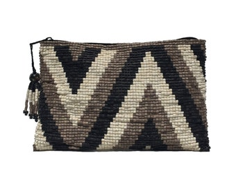 Free US Shipping - Cerinal Ceramic Beaded Clutch