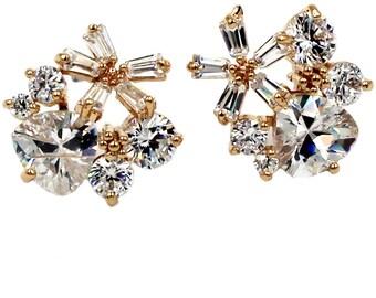 Sweety mini crystal earrings