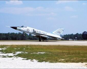 24x36 Poster . F-106A Delta Dart Massachusetts Air National Guard 1984