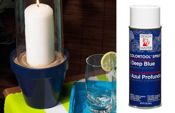 Deep Blue Design Master Colortool Spray Paint Craft Spray