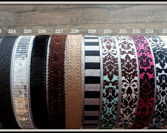 FREE SHIPPING!!!1 inch Width Non-Slip Headbands - Comparable to Sweaty Bands