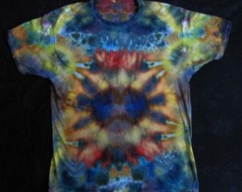 Tribal Magic Tie Dye Shirt - Size: Adult L