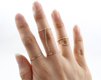 14k Gold filled Classic Slave Ring