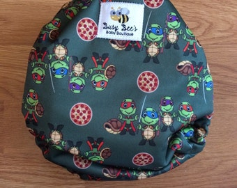 New born cloth diaper (Turlte Ninjas)