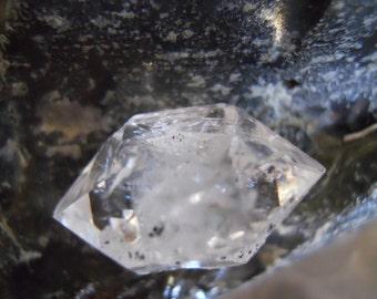 Herkimer NY Diamond Double terminated crystal,Key,Creatvity,3rd eye,Crown,Attunement,Auras,chakras,Astral Travel,Angellic Realm,Divine,dream