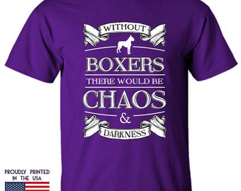 Gifts for dog lovers Boxers Chaos n Darkness Ttd1