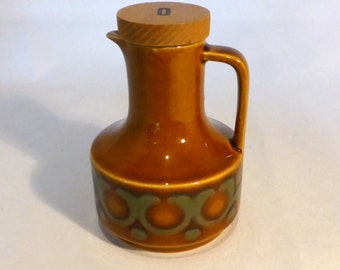 "Hornsea ""Bronte"" olive oil pourer - original from the 1970's"