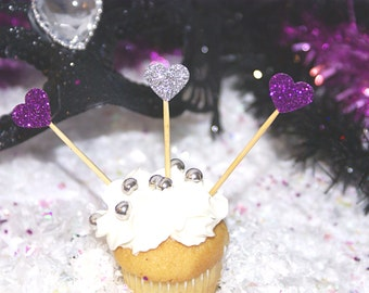 15 cake glitter decorations