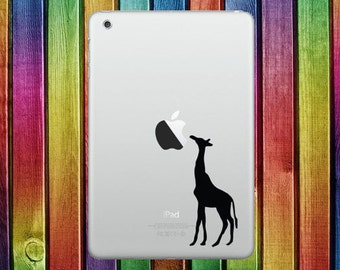 Giraffe iPad Sticker Decal - decal stickers, ipad stickers, sticker apple, ipad decals, ipad sticker, sticker ipad, ipad decal