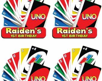 UNO 10 labels