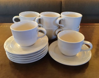 Pfaltzgraff Cup & Saucer Set in Acadia White