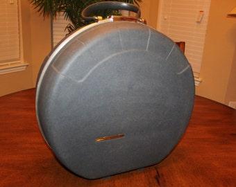 Vintage Round Starflite/Starflight Suitcase Luggage