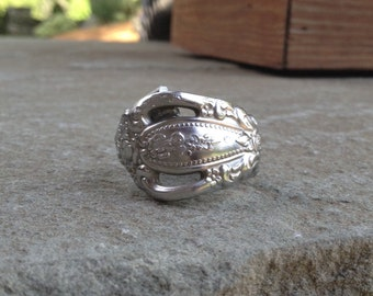 Vintage Oneida Stainless Spoon Ring