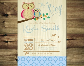 Boy Owl Baby Shower Invitation BabShow_inv_013
