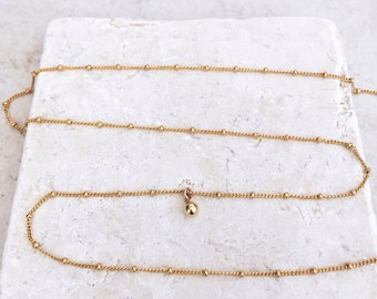 Belly chain, Body chain, Delicate necklace, lariat necklace, best seller, belly jewelry