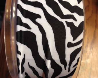 Black/White Zebra Headband
