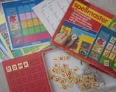 vintage 1980 Spellmaster spelling toy