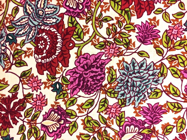 dark purple floral fabric  quilting cotton   u0026quot hanging gardens ii u0026quot   apparel fabric  home decor