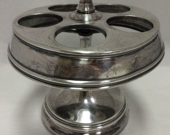 Vintage Silver Plate Condiment Castor