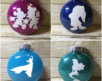 Personalized Disney Christmas Ornament