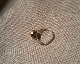 wire wrapped ring #41