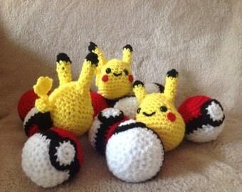 Crochet Pokeball / Pokeball
