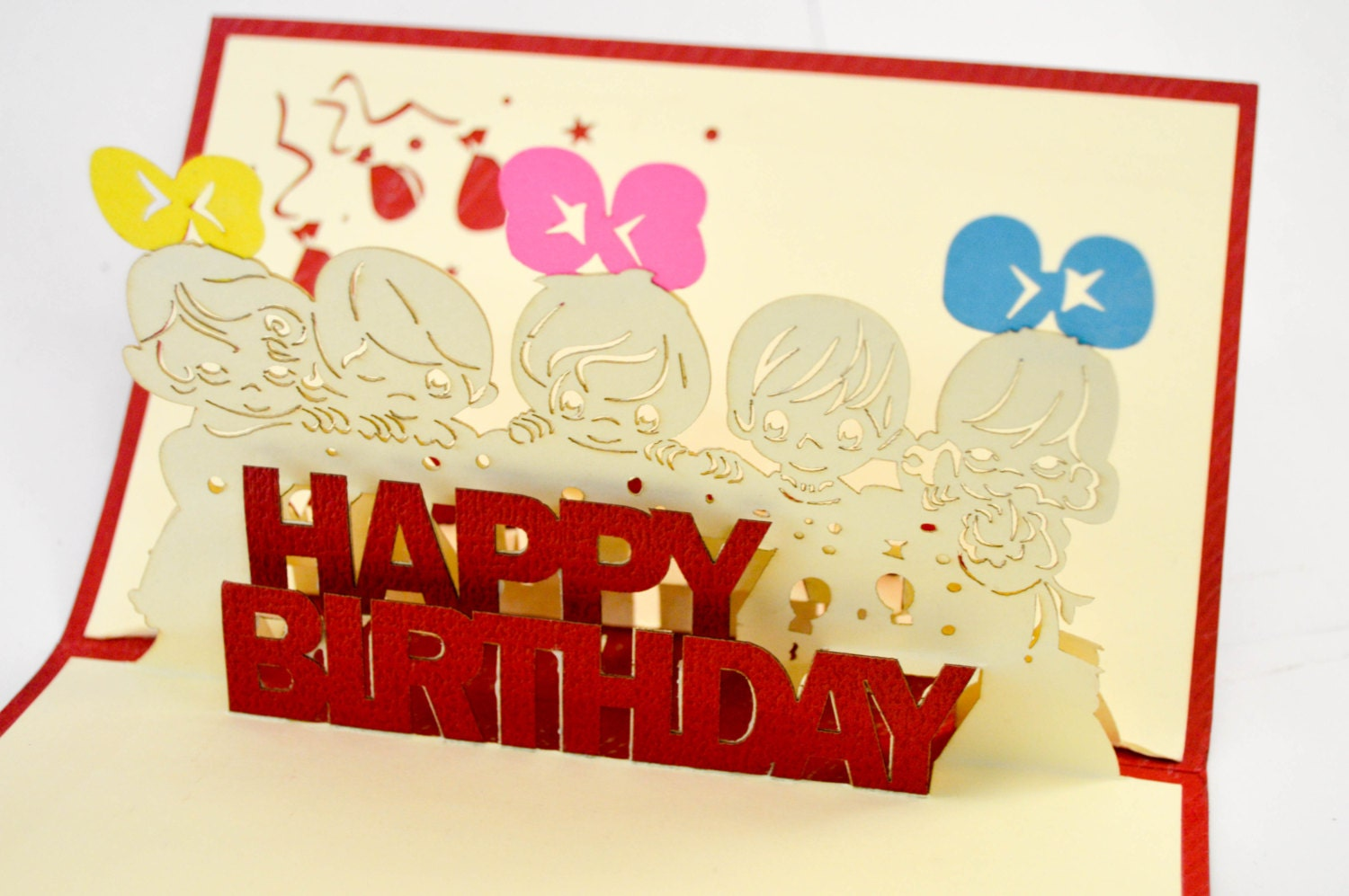 Happy Birthday Greeting Card 3D Greeting Card Birthday Gift