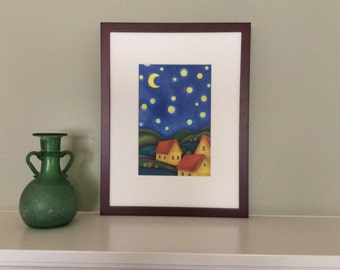 Starry Night Archival Print